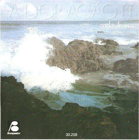 cd cordas divinas - adoração 2 - novo***