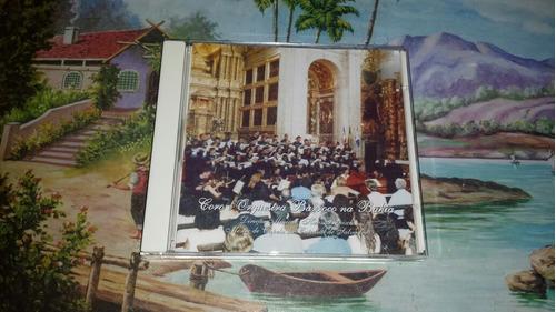 cd coro barroco na bahia original raríssimo