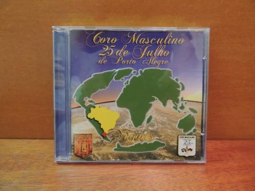 cd coro masculino 25 de julho de porto alegre viajores