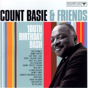 cd count basie & friends 100th birthday bash