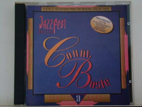 cd - count basie - jazz fest master -