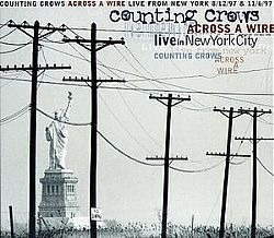cd counting crows - across a wire live in ny city (novo