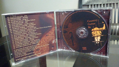 cd country guitar br coletanea guitarra country brasileira