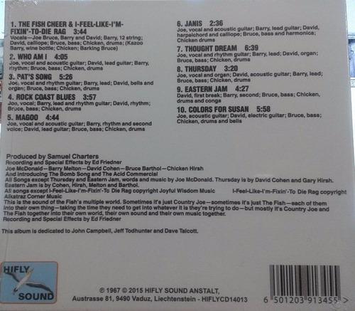 cd - country joe & the fish - i feel like i'm fixin to die