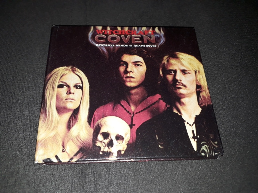 Cd Coven Witchcraft Destroys Minds Reaps Souls Black Sabbath