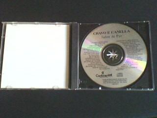 cd cravo e canella  12 anos - sabor de paz