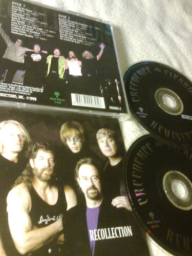 cd creedence clearwater revisist  ( duplo) original -1999