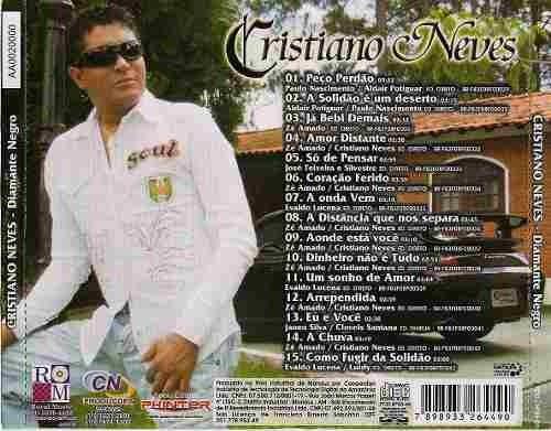 cd cristiano neves - diamante negro - b310