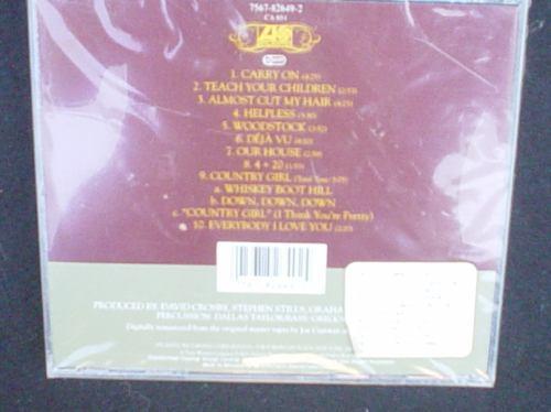 cd crosby,stills,nash, &young   deja vu   import. atlantic