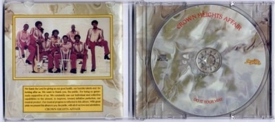 cd crown heights affair - do it your way + 3 tracks (imp.)