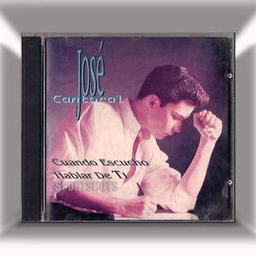 9ab1664ca7 Cd - Cuando Escucho Hablar De Ti - Jose Cantoral