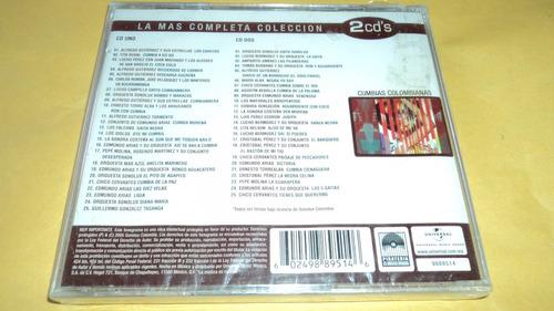 cd cumbias colombianas vol.1 album con 2 cds / varios