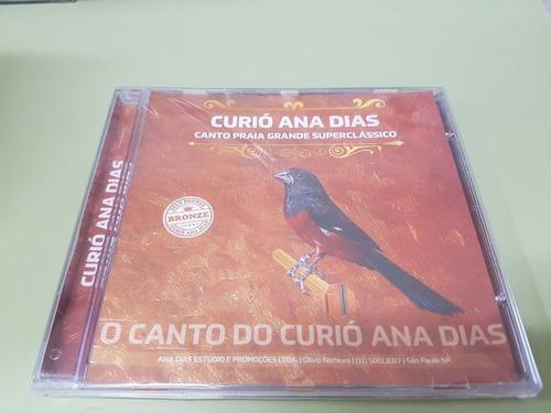 cd curió ana dias selo bronze - original