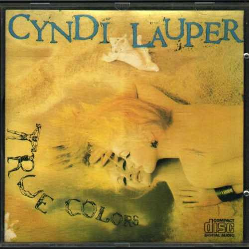 cd cyndi lauper - true colors