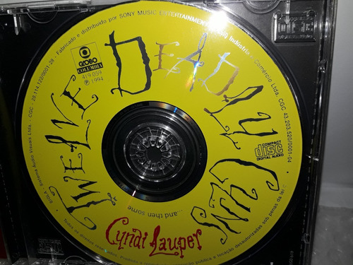 cd cyndi lauper twelve deadly cyns...1994