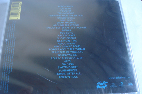 cd daft punk alive 2007 sellado