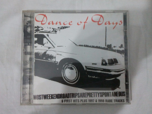 cd dance of days 6 first hits plus 1997 1998 rare tracks