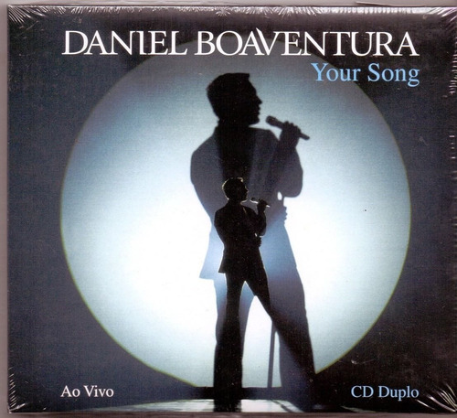 cd daniel boaventura - your song : ao vivo ( 2 cd ) digipack