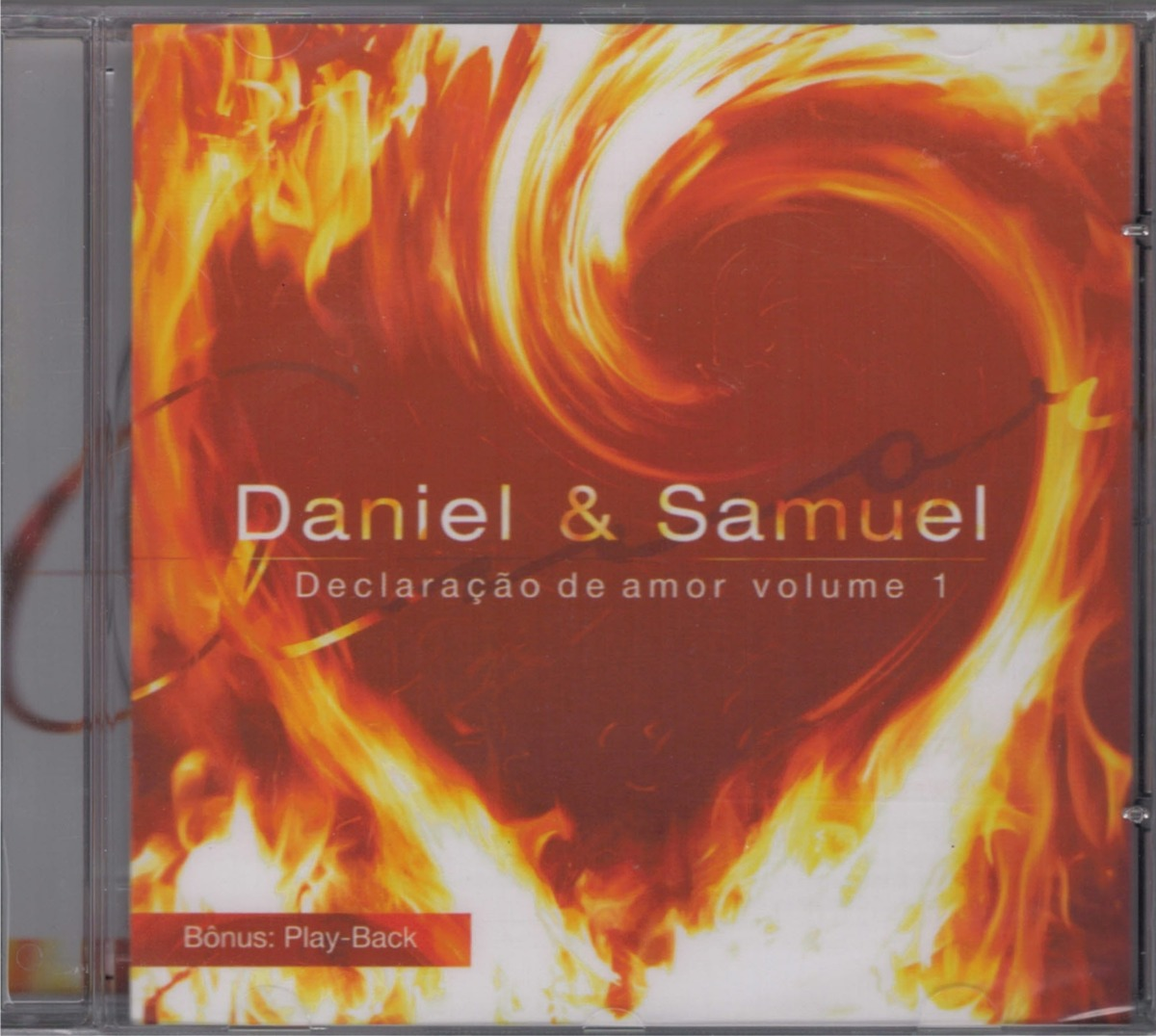 Cd Daniel E Samuel Declaracao De Amor 1 Bonus Playback R 12