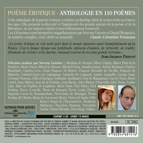 cd : daniel mesguich - sterren guirirec - poesie erotique (3