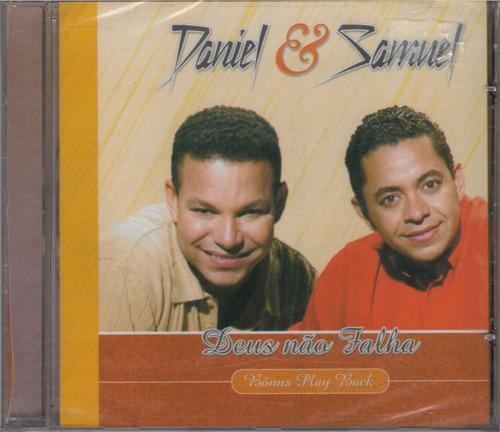 cd daniel & samuel - deus não falha / bônus playback