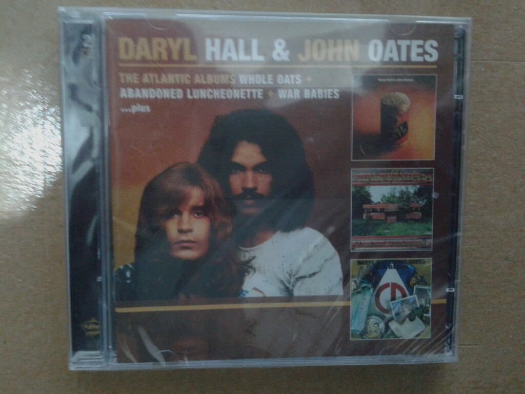 Cd Daryl Hall John Oates 2 Cd Doble