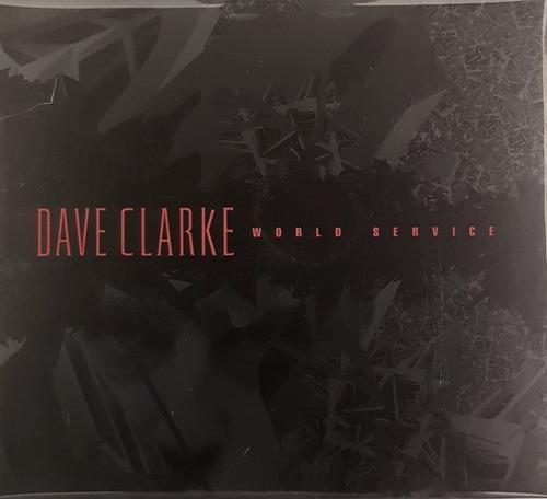 cd dave clarke - world service - duplo box importado lacrado