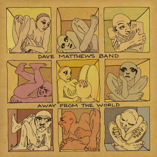 cd dave mathews band -away from the world