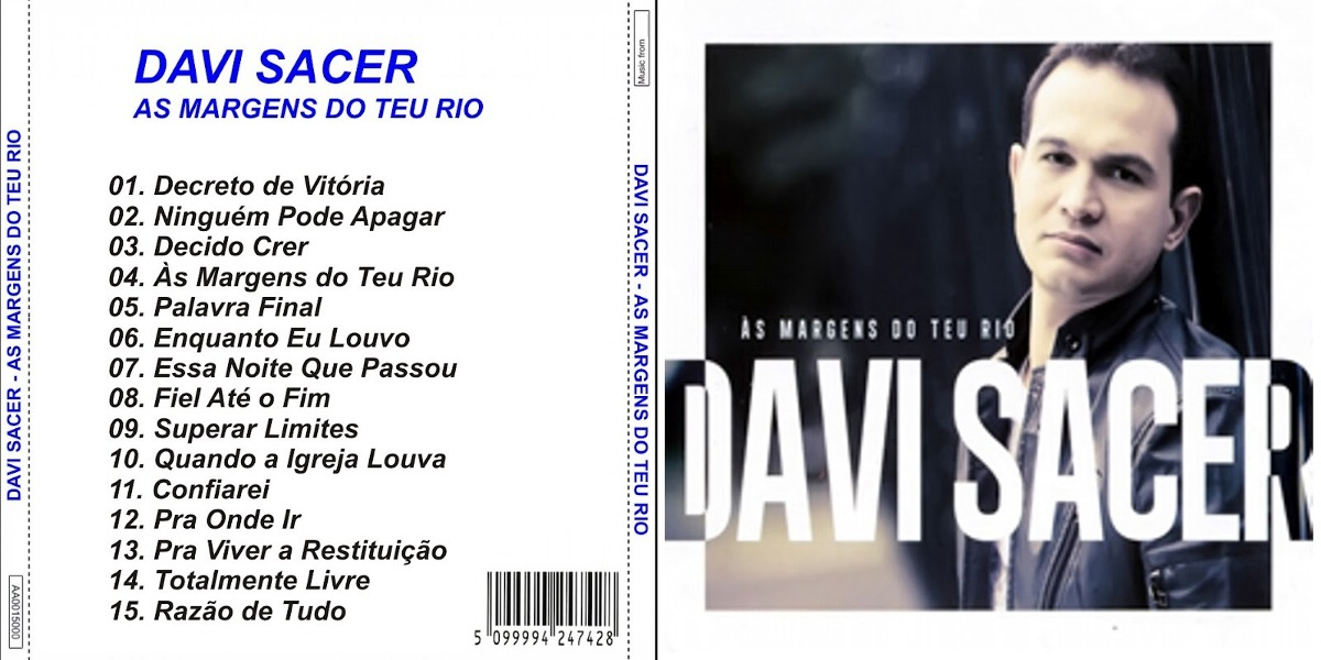 cd davi sacer as margens do teu rio para