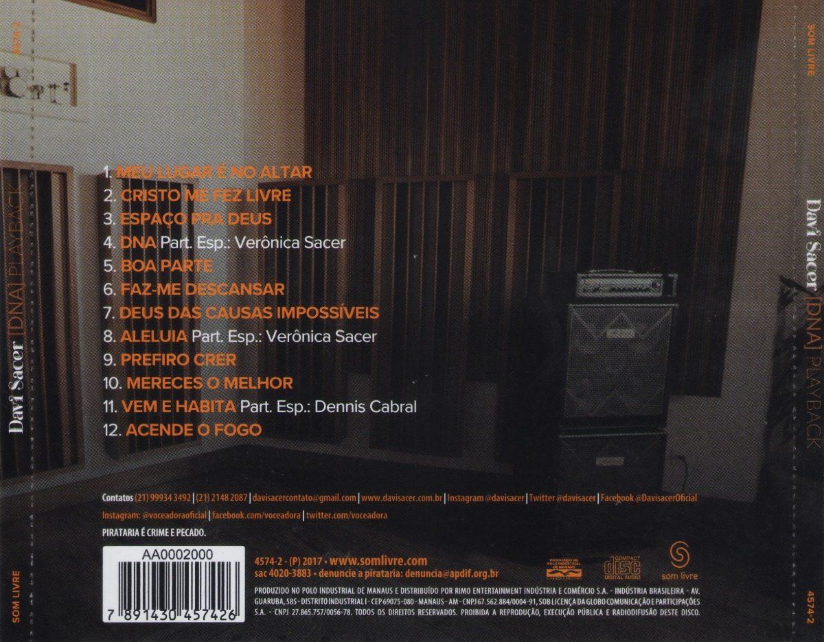2012 DAVI SACER NOVO BAIXAR CD