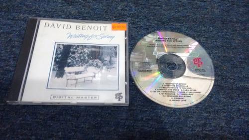 cd david benoit waitin for spring importado formato cd