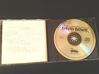 cd david bowie - the rockridge synthesizer  (importado)
