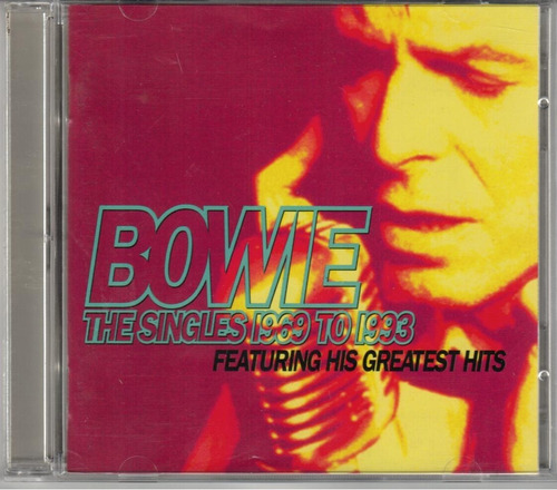 cd david bowie - the singles collection [duplo] [made i usa]