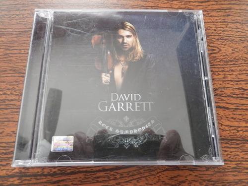 cd david garret - rock simphonies
