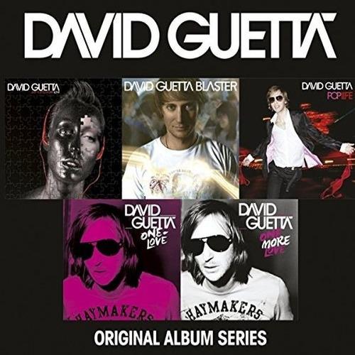 cd david guetta original album series (2014) 5 cds