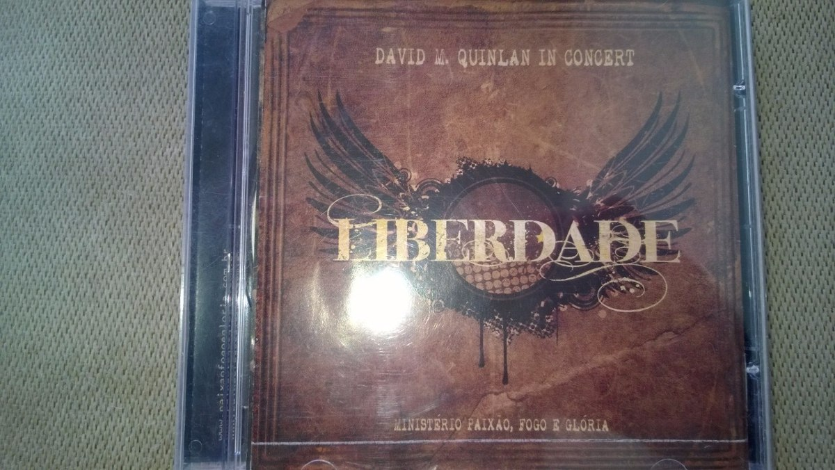 o cd liberdade david quinlan