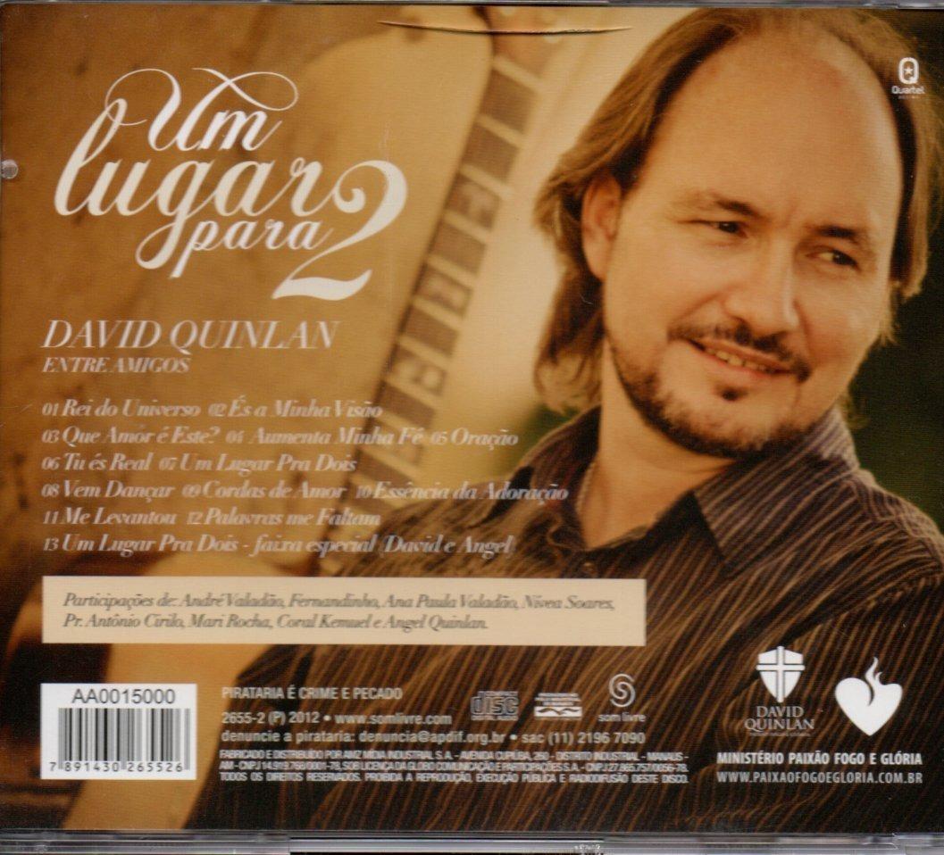 cd completo de david quinlan um lugar para dois