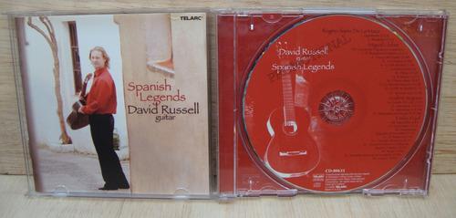 cd david russell - spanish legends - telarc importado