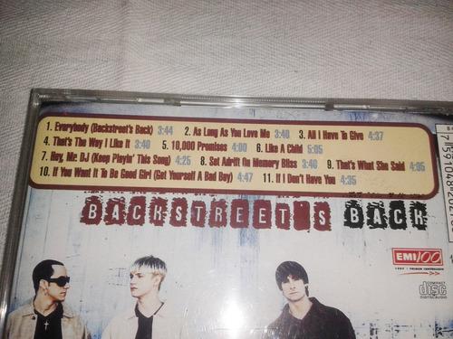 cd de backstreet boys backstreet's back