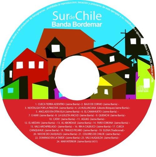 cd de banda bordemar sur de chile-tierra adentro,