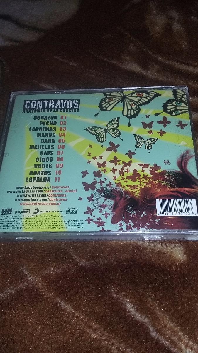 Cd De Contravos-anatomia De La Cancion-reggae Nacional - $ 130,00 en ...