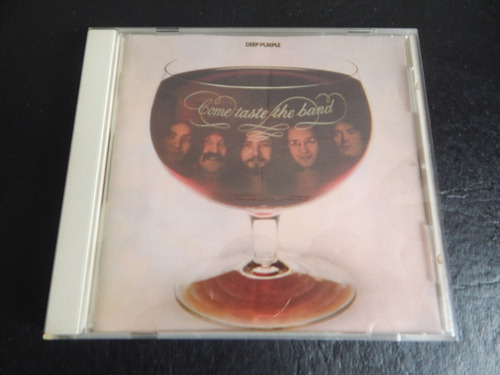 cd de deep purple  come taste the band  1975