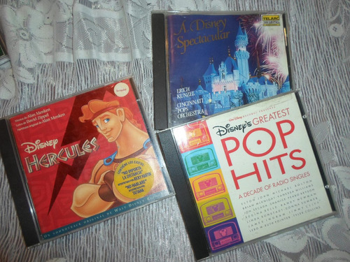 cd de disney originales