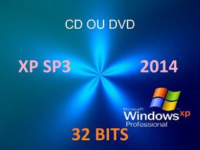 Cd De Formatação E Instalação Windows Xp-sp3 2014 - 32 Bits