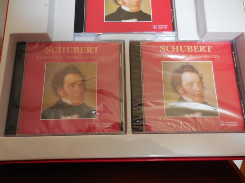 cd de franz schubert  1797-1828 boehringer ingelhein