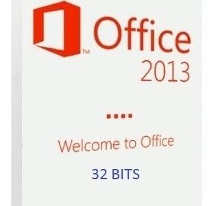 cd de instalação office 2013 -32 bits