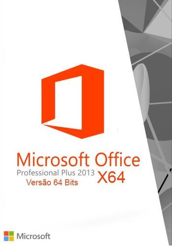 cd de instalação office 2013 - 64 bits