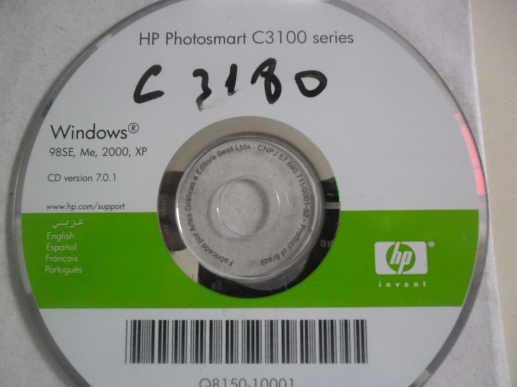 impressora hp photosmart c3100 series