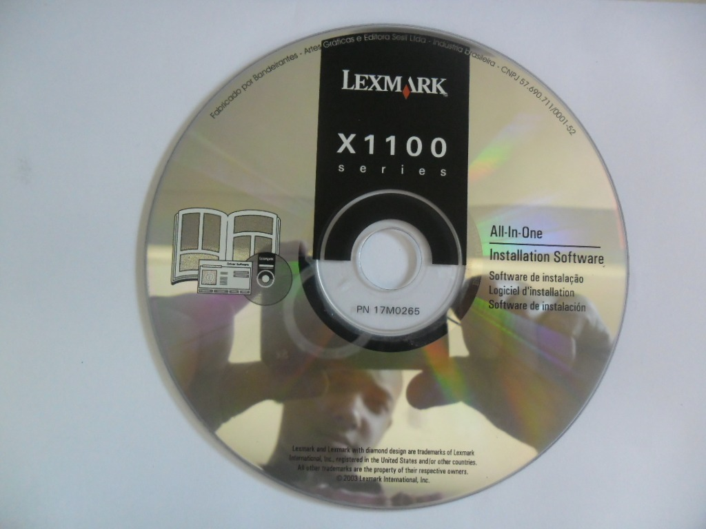 logiciel lexmark x1100
