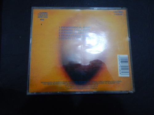 cd de invisible  durazno sangrando  1992